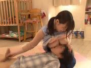 斉藤みゆ 保育士は超性欲旺盛で欲求不満のヤリマン巨乳女子