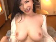 巨乳美女と夢のパイズリ&中出し性活 沖田杏梨