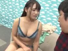 河音くるみ(Fカップ)第2回 素人ベロちゅう選手権