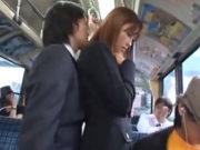 朝日奈あかり(Eカップ)痴漢バスおとり捜査官