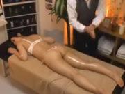 妃乃ひかり(Gカップ)エステサロンで欲求不満の巨乳人妻を猥褻マッサージ