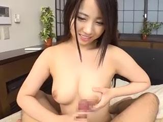 玉木くるみ(Fカップ)巨乳家庭教師にねっとりフェラ、パイズリされ生挿入!