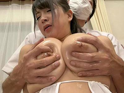 Kカップ乳にマッサージ師の指がめり込む 優月まりな